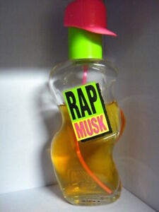 Rap Musk Parfums de Coeur All Night Spray Cologne 1 oz 75% Full  Extremely Rare