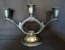 ETERNALLY YOURS CANDLE HOLDER by Internaional/1847 Rogers Bros. Silverplate