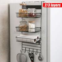 2 Types Refrigerator Rack Fridge Side Shelf Sidewall Holder Organizer Storage U