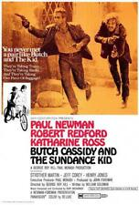 Butch Cassidy and the Sundance Kid Movie Poster 27 x 40 Paul Newman, A