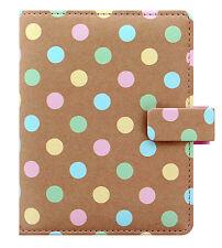 Filofax Pocket Size Personal Organiser Diary - 'Patterns' Pastel Spots 027044
