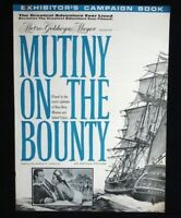 Mutiny on the Bounty- 1963 Marlon Brando movie pressbook w/ads & poster images