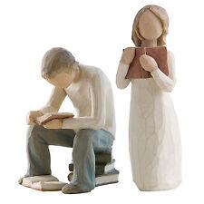 Willow Tree Siblings Older Brother & Sister Figurine Gift Set