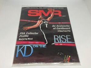NEW SMR Sports Market Report PSA/DNA Guide Magazine KEVIN DURANT April 2021