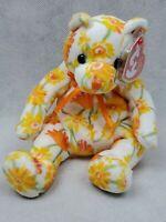 TY Beanie Baby 2003 Shasta floral bear plush (cc)