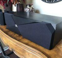 "JBL Studio 120c Center Channel Speaker - Studio 1 Series Dual 4"""