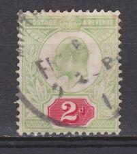 Great Britain nr 106 used EDWARD VII 1902 VEILING oude postzegels ENGELAND