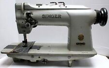 Singer 212G145 Drop Feed 2-Needle 5/8 Gauge Lockstitch Industrial Sewing Machine