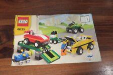Istruzioni Lego 4635