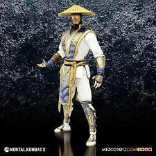 "RAIDEN the Thunder God Mortal Kombat X 6"" Collectible Action Figure New Mezco"