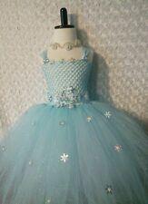 Little Girl Toddler dress/ Elsa Frozen/ tutu dress/ playtime/ Pictures/ 5-8 kids