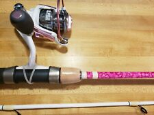EAGLE CLAW LADY MOGAN FISHING ROD AND REEL