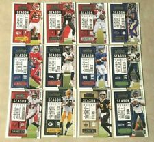 2020 Panini Contenders Football Season Ticket Card You Pick Complete Your Set
