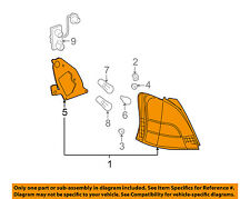 TOYOTA OEM 07-08 Yaris-Taillight Tail Light Lamp Assy Left 8156152460