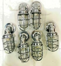nautical new marine aluminium ship passageway bulkhead light 6 piece