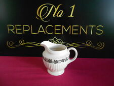 Wedgwood Queens Ware Edme Stratford Black Milk / Cream jug 3.75""
