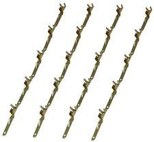 20 x Terminales PIN macho para conector enchufe ISO QUADLOCK autoradio