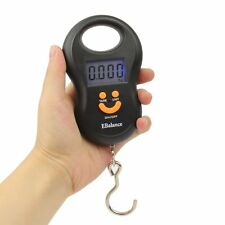 50kg/10g Travel LCD Digital Fish Hanging Luggage Weight Electronic Hook Scale BL