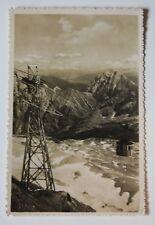 AK  GIPFELBAHN mit Hohe Munde und Inntal - Kleinpostkarte, 1933, STEMPEL
