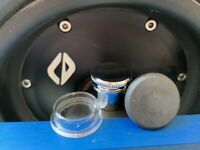 Onewheel Plus XR -1 PREMIUM Silver & 1 FLAT Charge Port Plug & Power Switch Cap