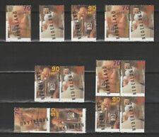Nederland Stockkaart Zegels en Combinaties uit Postzegelboekjes 49 Postfris