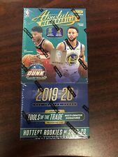 2019-20 Caja PANINI ABSOLUTE recuerdos Hobby 2 paquetes NBA Zion Williamson Morant