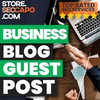 Business Blog Guest Post DA 50+ Boost your Google Ranking - HQ Blog Backlinks 🚀