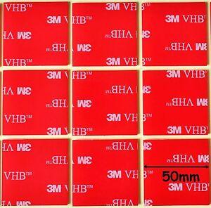 Nastro Scotch bi-adesivo marca 3M 5952 destinato ad uso professionale 5 X 5cm