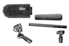 Sennheiser MKH416  Mic w/ Rycote Softie & Rycote Lyre Pistol Grip Shock Mount