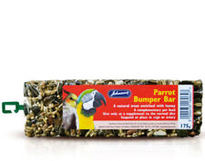 Parrot Bumper Bar 175g - Johnsons Bird Seed Treat Cockatiel Feed bp Food