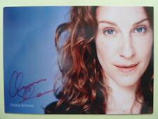 Chiara Schoras - Autogrammkarte