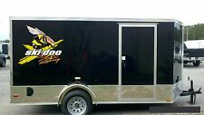 "SKI-DOO Techno Bee / PAIR / 24"" Vinyl Vehicle Snowmobile Gear Graphic Decals"