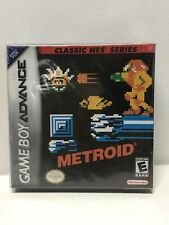Brand New/Factory Sealed Metroid Classic NES Series Nintendo Gameboy Advance GBA