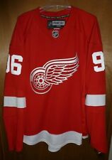 Thomas Holstrom Detroit Red Wings Authentic Reebok Edge Home Jersey - Size 56