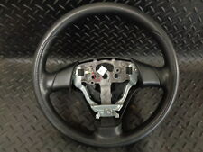 2007 MAZDA 3 1.6D S 5DR LEATHER STEERING WHEEL
