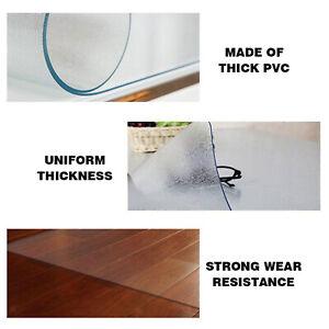 Vinyl Floor Mats Plastic Cushion PVC Home Office Carpet Mat Chair Desk