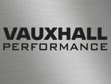 Vauxhall Performance Car Vinyl Decals Stickers, Race, Van, Door Stack, Window