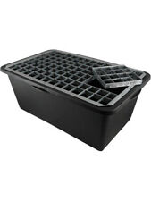 Reinforced Heavy Duty Pebble Pool 800mm x 630mm with Grid For Water Features
