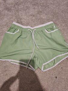 Ladies M Green Shorts