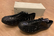 Vintage Italian Leather Cycling Shoes, Size 43. Pavarin, Detto