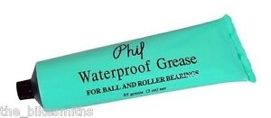 Phil Wood Waterproof Grease Lube 3oz Tube Bike Bicycle Ball & Roller Bearings