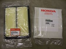 Genuine OEM 2010-2012 Honda Accord V6 Engine Air & AC Cabin (Pollen) Filter