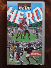 Hero: The Official Film of the 1986 FIFA World Cup - 80er Fußball VHS Video xx