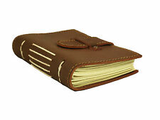 Genuine Leather Pocket Journal Small Diary Notebook Handmade Vintage Travel Book