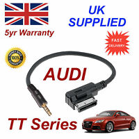 AUDI TT Series AMI MMI 4F0051510F Music Interface 3.5mm Jack input Cable