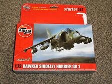 AIRFIX HAWKER SIDDELEY HARRIER GR.1  1:72 MODEL KIT A55205 - NEW (FREE UK P&P)