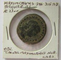 Royal Imperial  Maximianus 286-305 A.D. Bronze coin