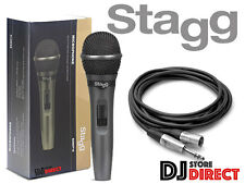 Stagg SDMP15 Professional High Quality Handheld Wired Microphone FREE 3.5M LEAD*