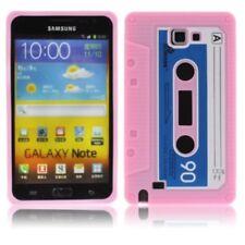 CUSTODIA CELLULARE COVER SILICONE CASSETTA per Samsung Galaxy N7000 nota
