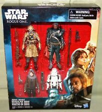 JEDHA REVOLT 4-Pack SAW GERRERA EDRIO TWO TUBES JYN Star Wars Rogue One 3.75""